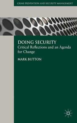 Book Doing Security by Mark Button