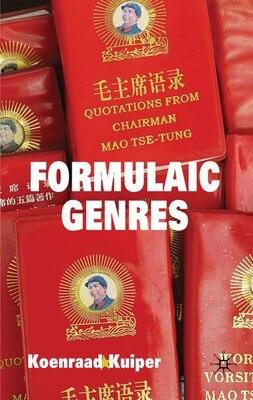 Book Formulaic Genres by Koenraad Kuiper