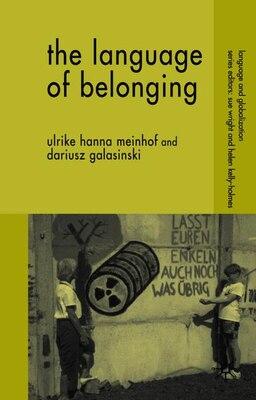 Book The Language of Belonging by Ulrike Hanna Meinhof