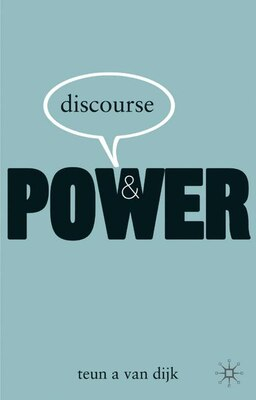 Book Discourse And Power by Teun Van Dijk