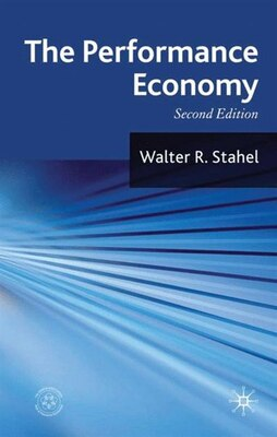 Book The Performance Economy: 2nd Edition by W. Stahel