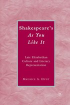 Shakespeare's As You Like It: Late Elizabethan Culture and Literary Representation