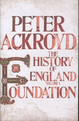 Book HISTORY OF ENGLAND VOL 1 by Peter Ackroyd