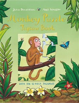 Book Monkey Puzzle Jigsaw Book by Julia Donaldson