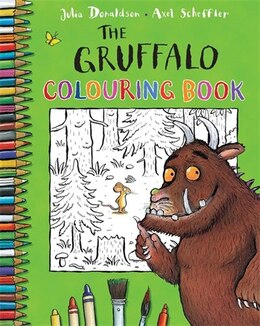 Book The Gruffalo Colouring Book by Julia Donaldson
