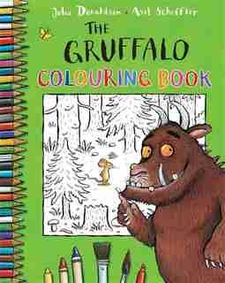 The Gruffalo Colouring Book by Julia Donaldson