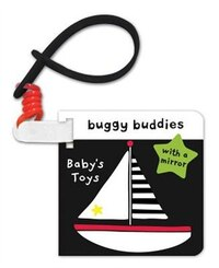 Black And White Buggy Buddies Babys Toys