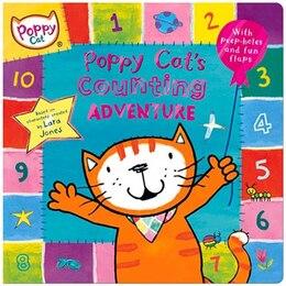 Book Poppy Cat Tv: Poppy Cat's Counting Adventure by Lara Jones
