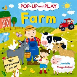 Book Pop-up And Play Farm by Jannie Ho
