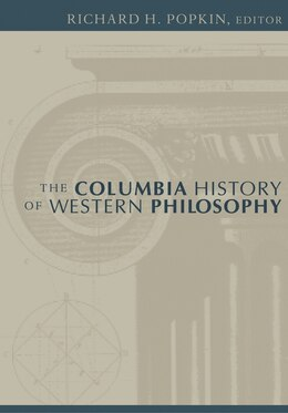 Book The Columbia History Of Western Philosophy by Richard H. Popkin