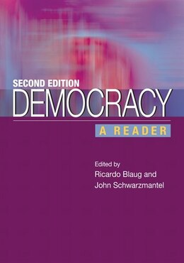 Book Democracy: A Reader by Ricardo Blaug