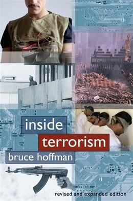 Book Inside Terrorism by Bruce Hoffman