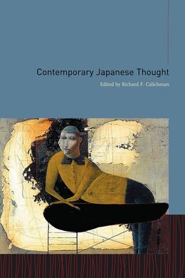 Book Contemporary Japanese Thought by Richard Calichman