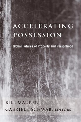 Book Accelerating Possession: Global Futures of Property and Personhood by Bill Maurer
