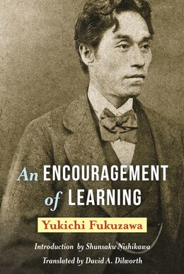 Book An Encouragement of Learning by Yukichi Fukuzawa