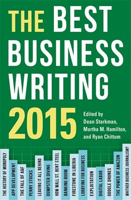 Book The Best Business Writing 2015 by Dean Starkman