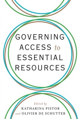 Book Governing Access to Essential Resources by Katharina Pistor