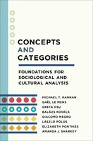 Concepts And Categories: Foundations For Sociological And Cultural Analysis