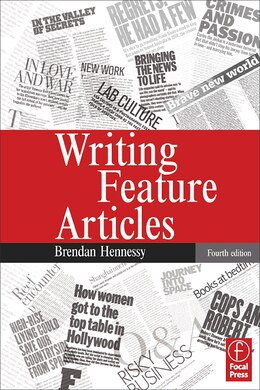 Book Writing Feature Articles by Brendan Hennessy