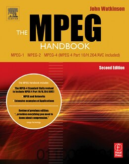 Book The Mpeg Handbook by John Watkinson