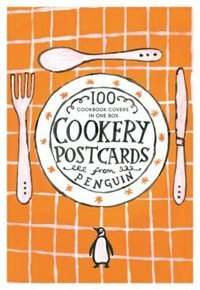 Book Cookery Postcards From Penguin: 100 Cookbook Covers In One Box by John Hamilton