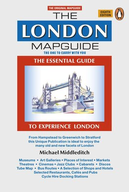 Book The London Mapguide: Eighth Edition by Michael Middleditch