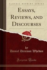 donnison essay