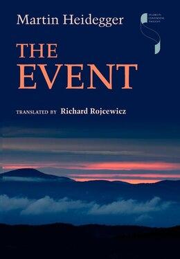 Book The Event by Martin Heidegger