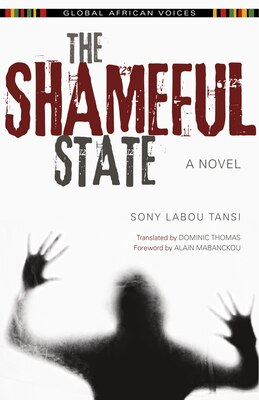 Book The Shameful State by Alain Sony Labou Tansi