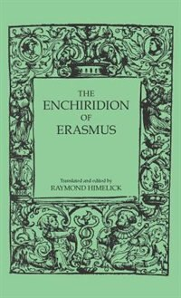 Book The Enchiridion Of Erasmus by Raymond Himelick