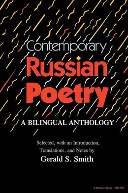 Book Contemporary Russian Poetry: A Bilingual Anthology by Gerald Stanton Smith