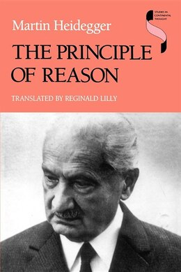 Book The Principle of Reason by Martin Heidegger