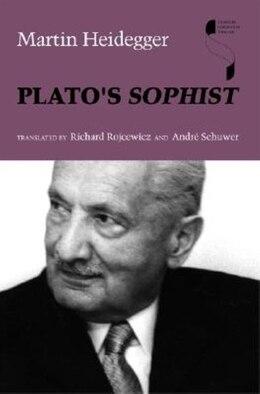 Book Plato's Sophist by Martin Heidegger