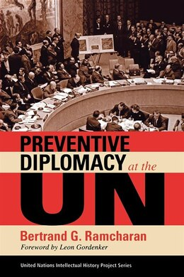 Book Preventive Diplomacy At The Un by Bertrand G. Ramcharan