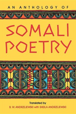 Book An Anthology of Somali Poetry by Bogumil W. Andrzejewski