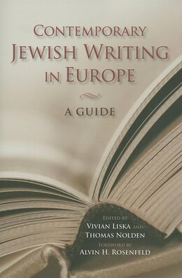 Book Contemporary Jewish Writing in Europe: A Guide by Vivian Liska