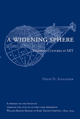 Book A Widening Sphere: Evolving Cultures at MIT by Philip N. Alexander