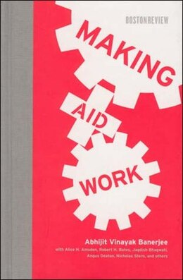Book Making Aid Work by Abhijit Vinayak Banerjee