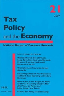 Book Tax Policy and the Economy by James M. Poterba