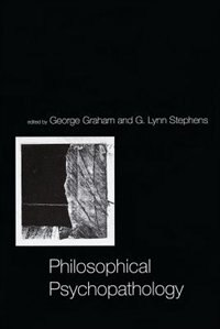 Book Philosophical Psychopathology by George Graham