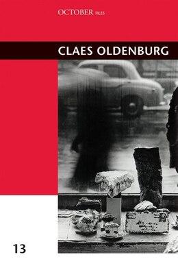 Book Claes Oldenburg by Nadja Rottner