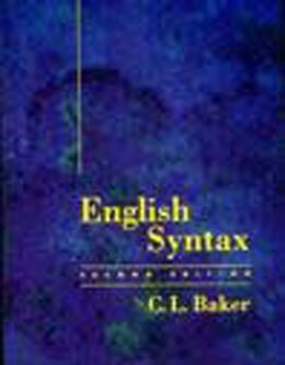 Book English Syntax by C. L. Baker