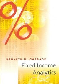 Book Fixed Income Analytics by Kenneth D. Garbade