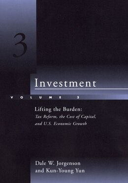 Book Investment: Lifting The Burden: Tax Reform, The Cost Of Capital, And U.s. Economic Growth by Dale W. Jorgenson