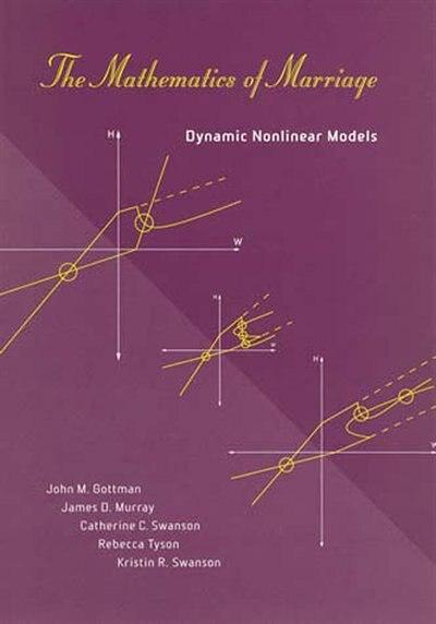 The Mathematics Of Marriage: Dynamic Nonlinear Models by John M. Gottman