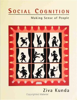 Book Social Cognition: Making Sense of People by Ziva Kunda