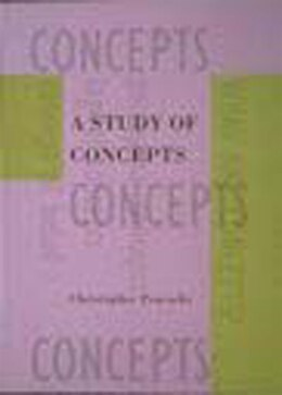 Book A Study of Concepts by Christopher Peacocke
