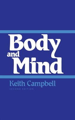 Book Body And Mind: Second Edition by Keith Campbell