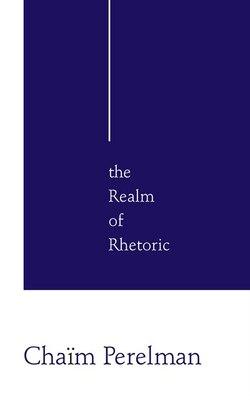 Book Realm Of Rhetoric: Philosophy by Chaim Perelman