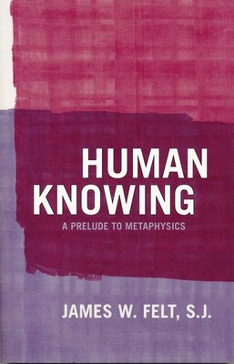 Book Human Knowing: A Prelude To Metaphysics by James W Felt S.j.